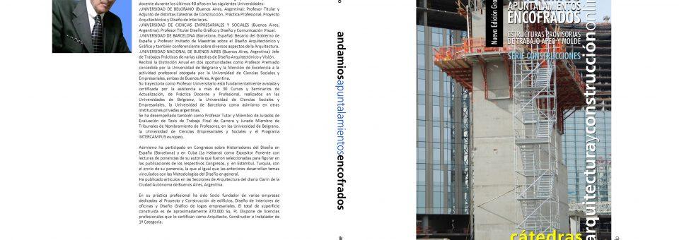 Andamios Apuntalamientos Encofrados. Nueva edición Paperback GRAYSCALE